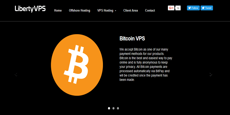 liberty-vps best cheap Bitcoin vps hosting review