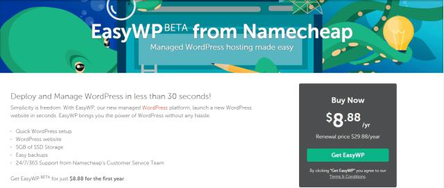 namecheap coupn code- wordpress hosting