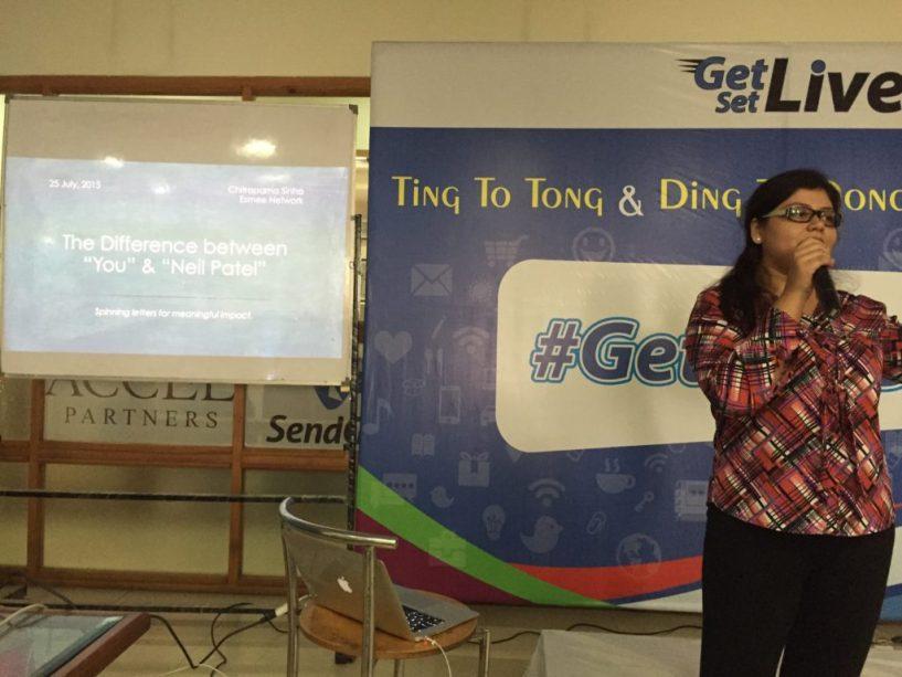 Chitraparna sinha at getsetblog