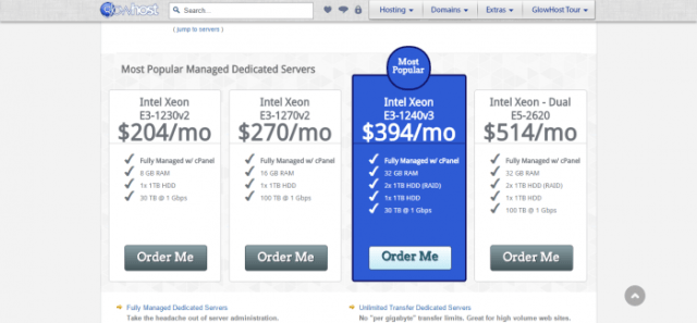 GlowHost Promo Code - Dedicated Hosting Managed Servers