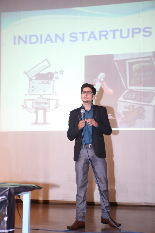 Mayank Wadhwa at payoneer forum delhi India