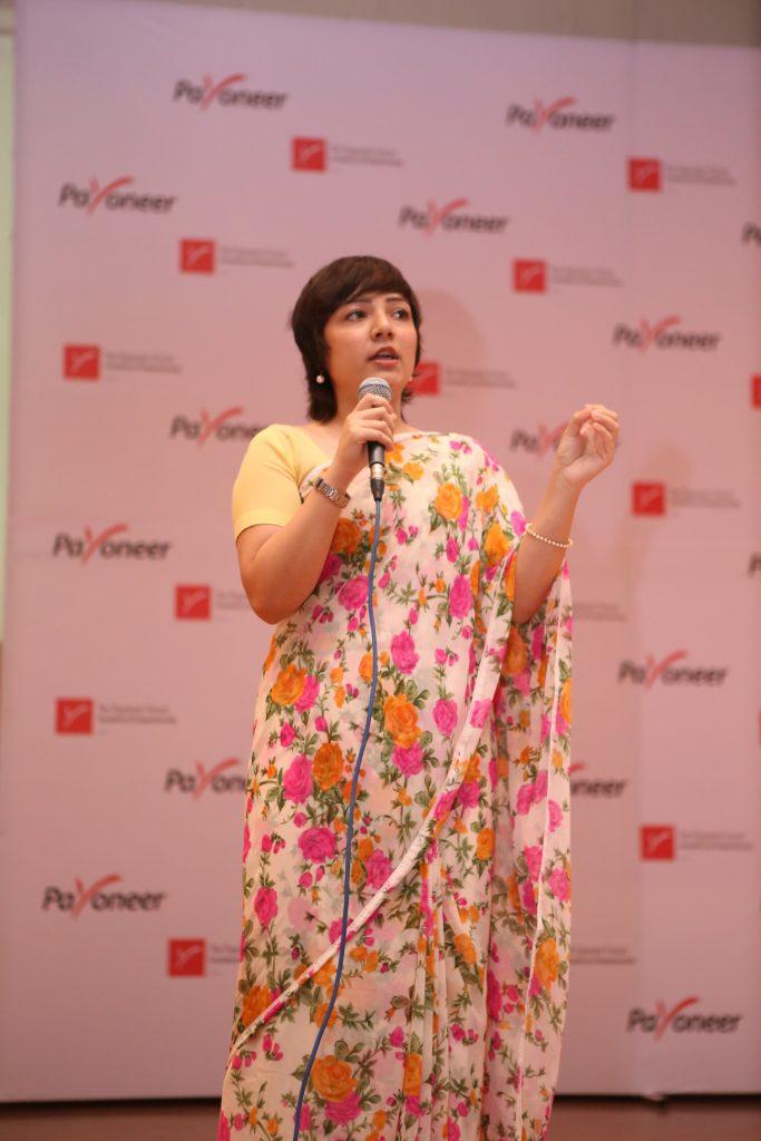 Rabia Kidwai Talking about finance matters