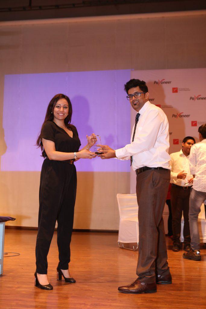 Ritu David from ritudavidconsulting at payoneer forum delhi India