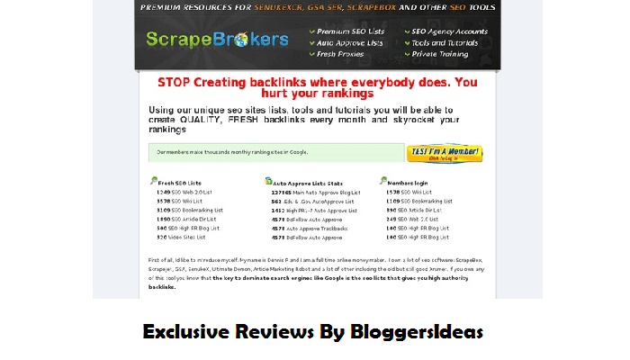 ScrapeBrokers Review