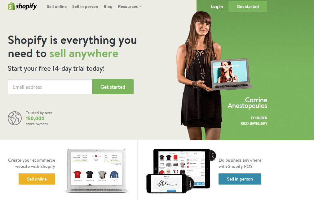 shopify high paying affiliate program that pays instantly