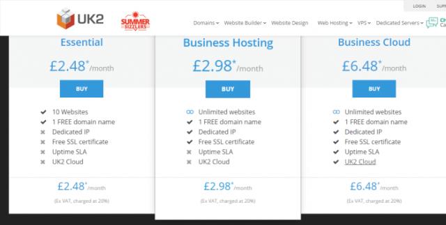 UK Web Hosting Services - UK2 Hosting Coupon Code