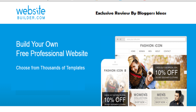 Websitebuilder.com review - website builders india