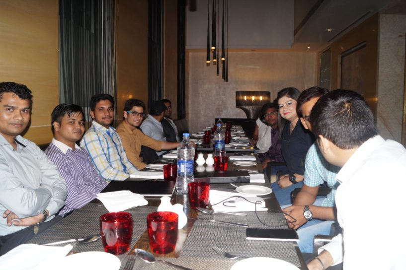 payoneer dinner networking july delhi  2015