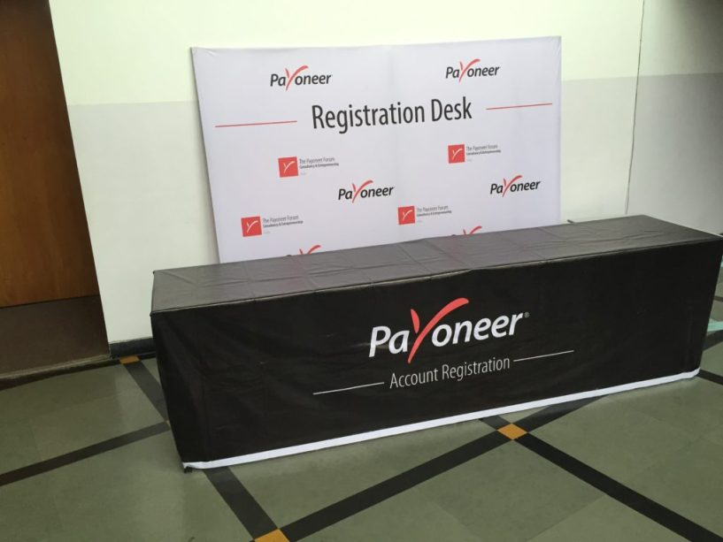 payoneer forum delhi  India july 2015