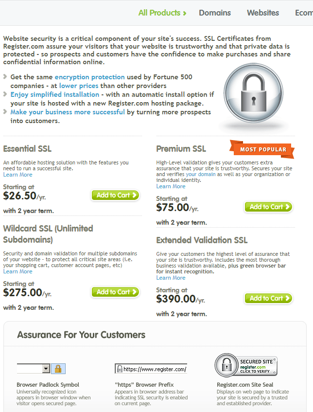 register.com-ssl certificate
