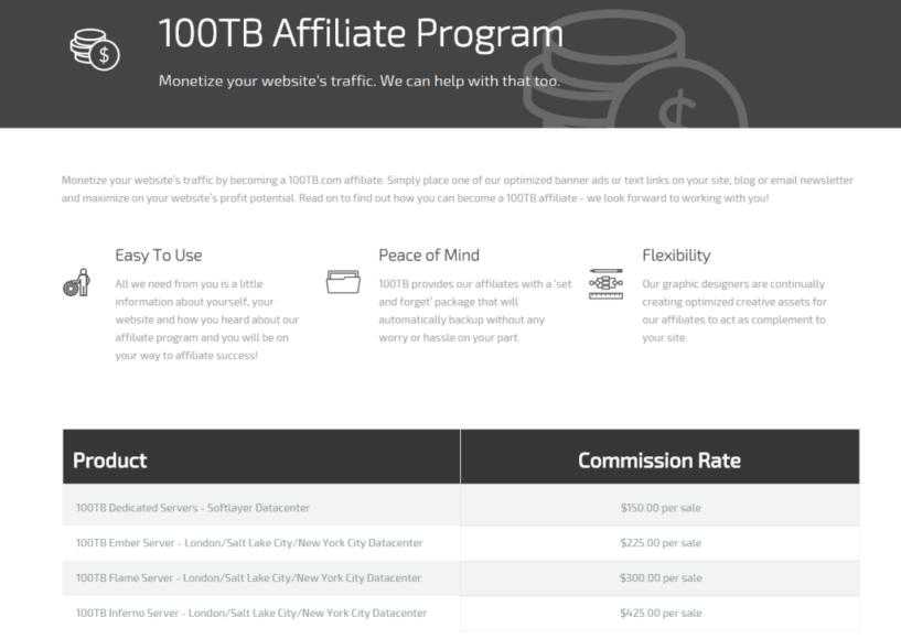 100TB Affiliate Program