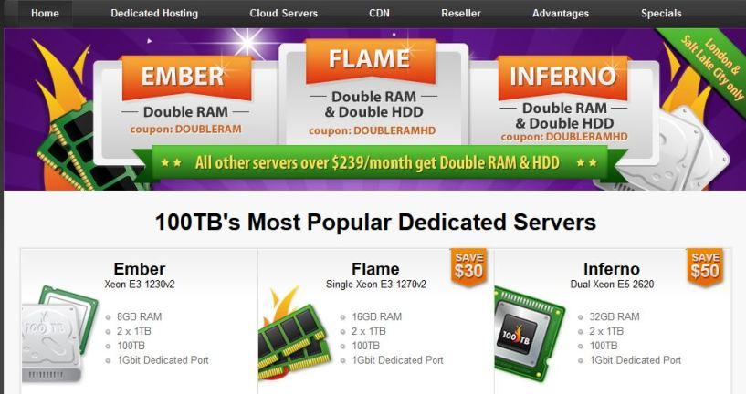 100TB Hosting Review