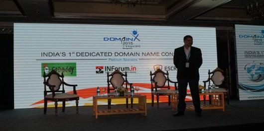 Deepak Daftari domainx event interview