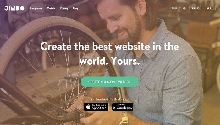Jimdo review featured image - website builders india