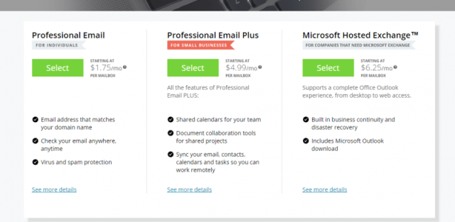 Network Solutions Coupon Code- Professional Email