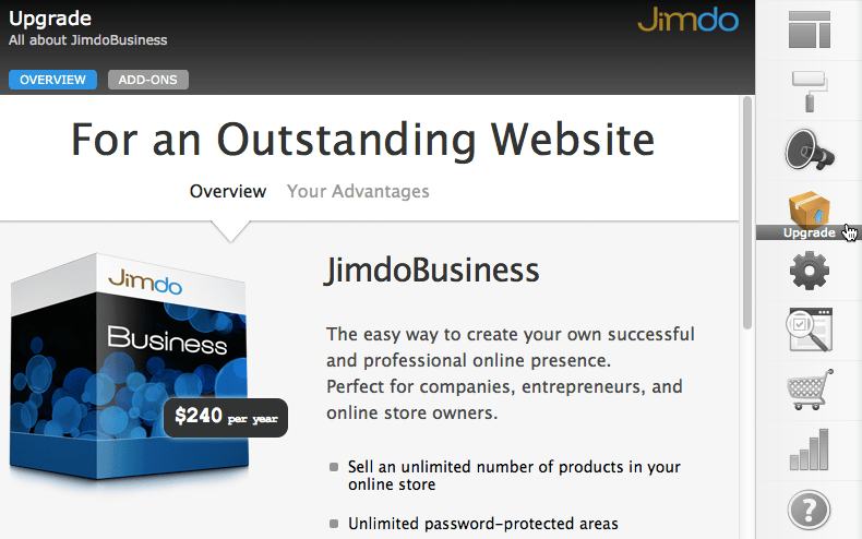 jimdo review business