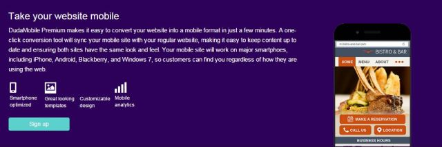 yahoo hosting review responsive