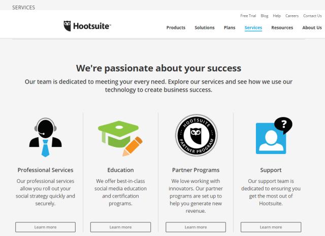 Hootsuite Services review