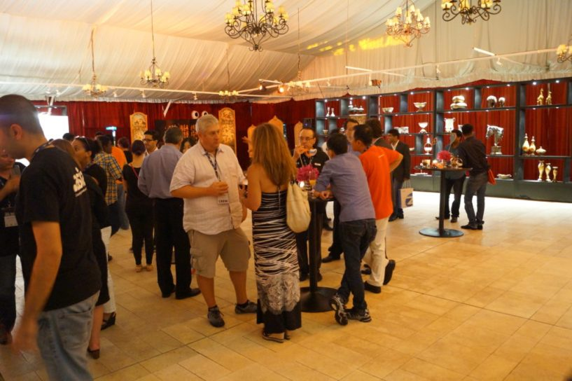 Party at Domainfest Macau