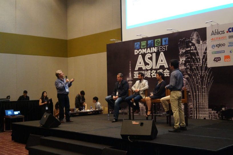 Simon Cousins Domainfest Macau