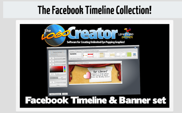 The Logo Creator facebook timeline