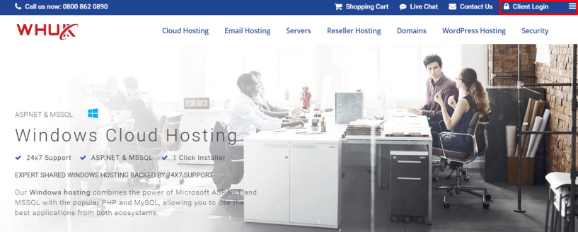 WEBHOSTING UK Discount Code - account login