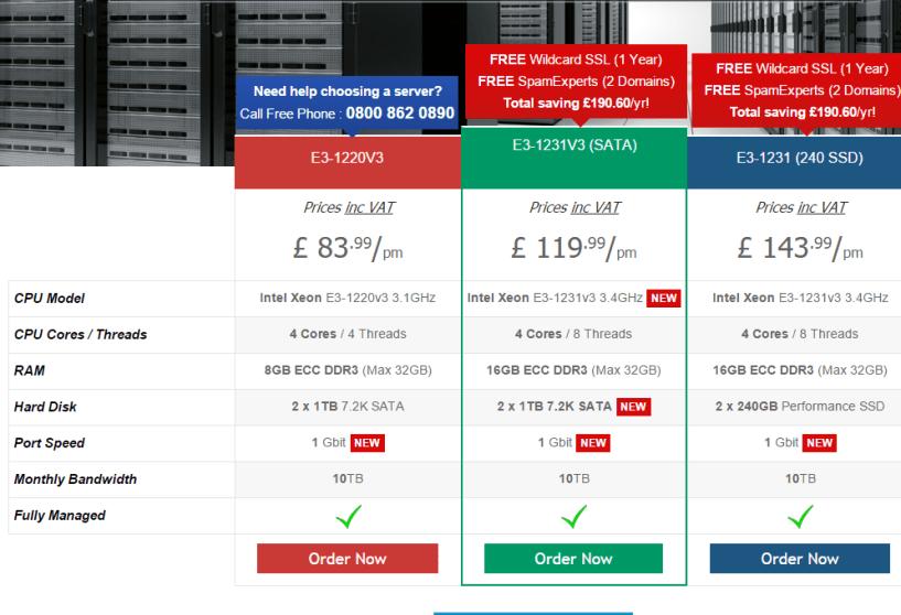 Web Hosting UK Dedicated Server - Web Hosting Coupon Code