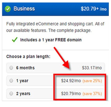 Weebly review business