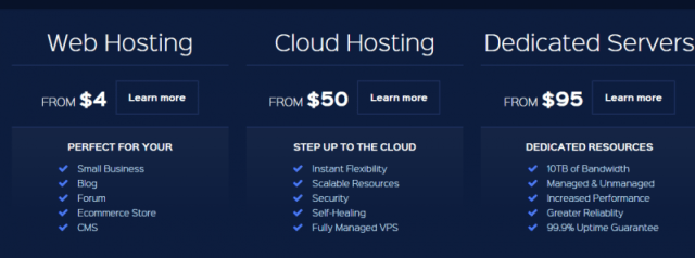 WestHost Website Hosting plans - WestHost Coupon Codes