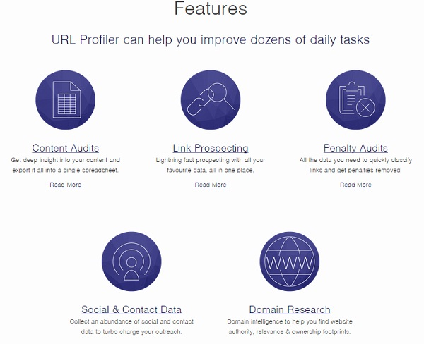 url profiler review features