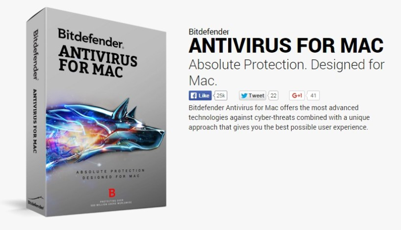 Best Antivirus software bitdefender