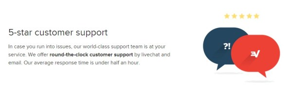ExpressVPN review customer support