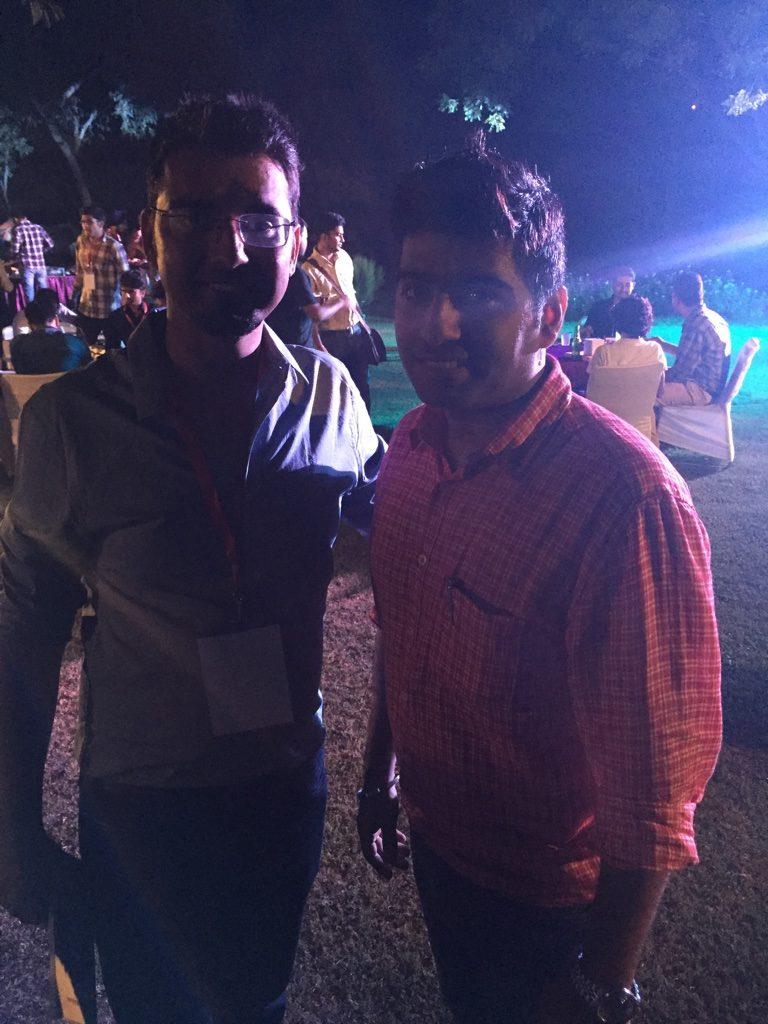 Harsh Agarwal and Aishwin Vikhona