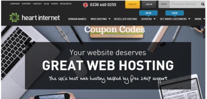 Heart Internet coupon codes promo codes discount codes