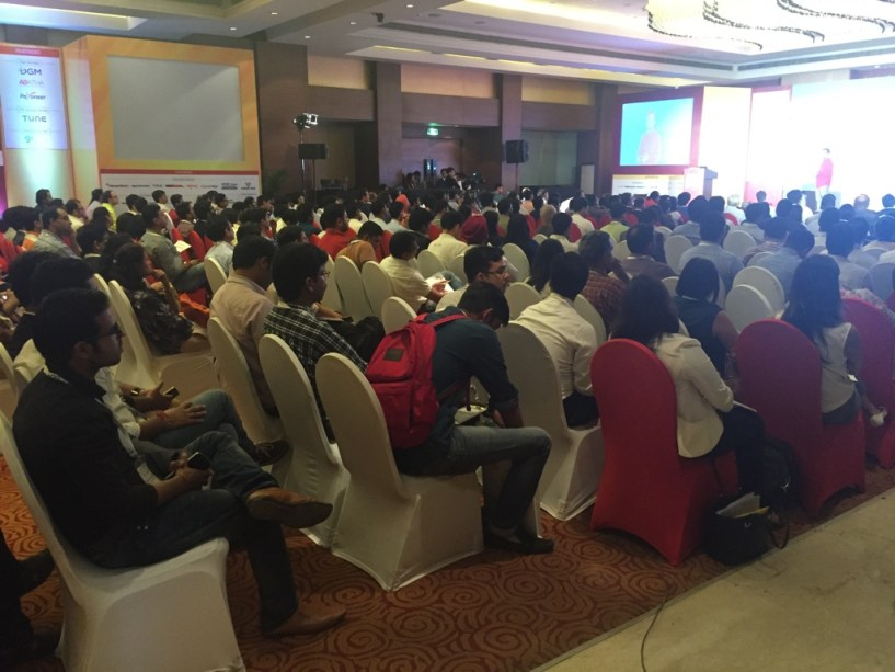 India Affiliate Summit 2015 Delhi 2 crowded