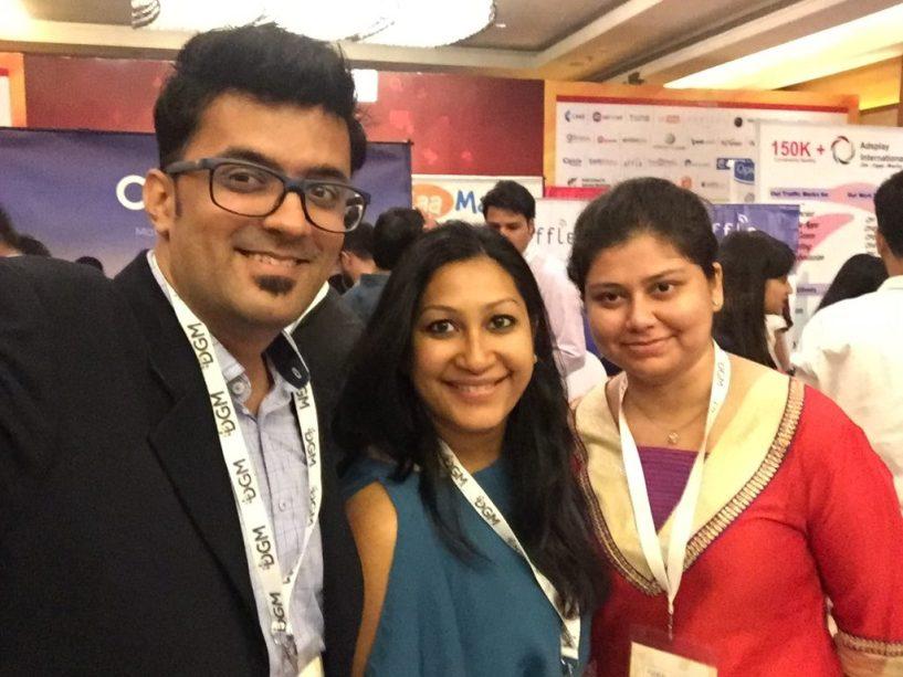 India Affiliate Summit 2015 Delhi Payoneer team