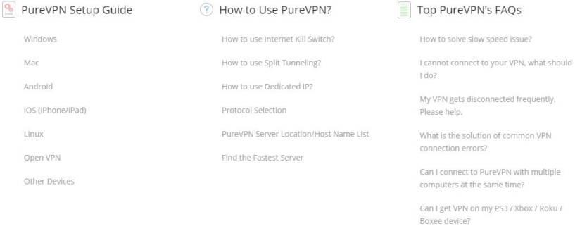 PureVPN review tutorials