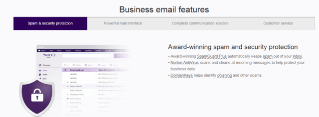 Yahoo Business Email