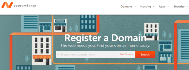 namecheap domain searhing