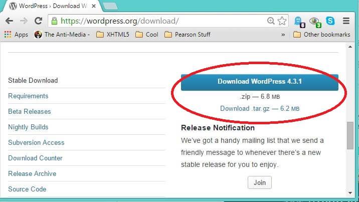 DownloadWordpress431