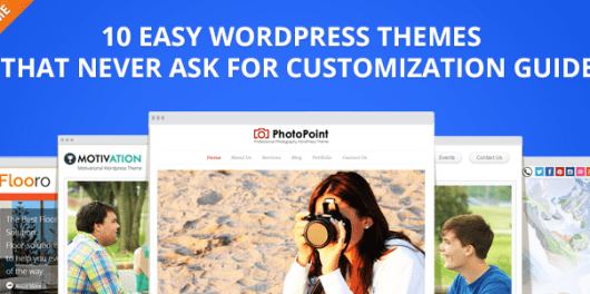 Easy WordPress themes