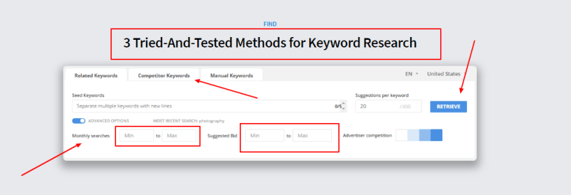 3 Tried-And-Tested Methods for Keyword Research