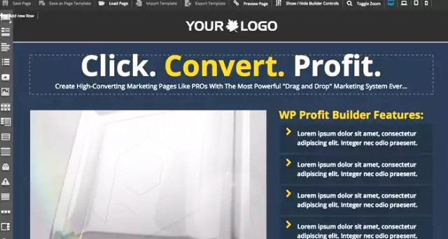 Features of WP Profit Builder