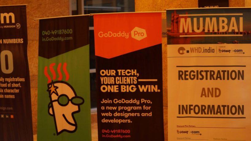 Godaddy at WHD mumbai India