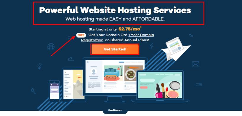 HostGator Web Hosting Domain Names Website Builder - Easy Secure