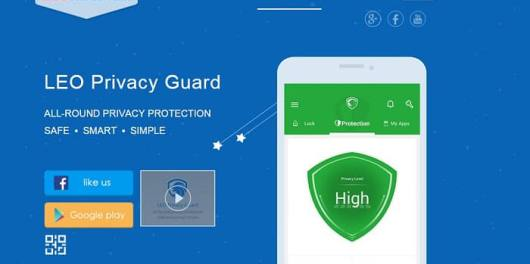 Leo Privacy guard homepage