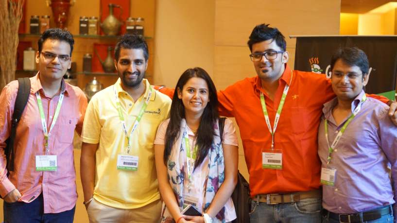 Me and with buddies and WHD India Mumbai 2015