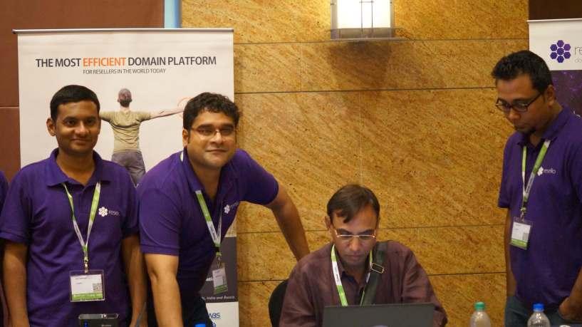 Resello Team at WHD India