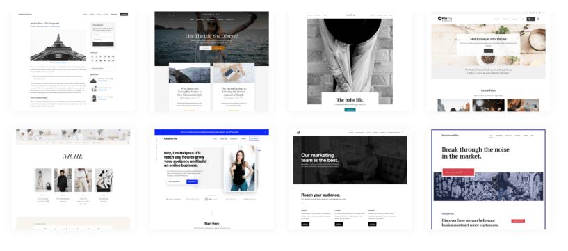 WordPress Themes by StudioPress