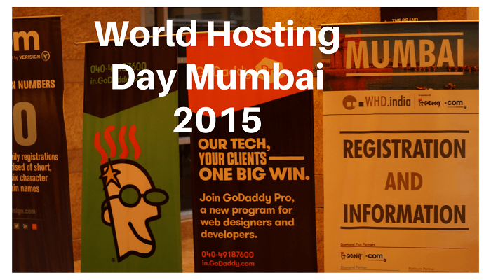 World Hosting Day WHD Mumbai India 2015